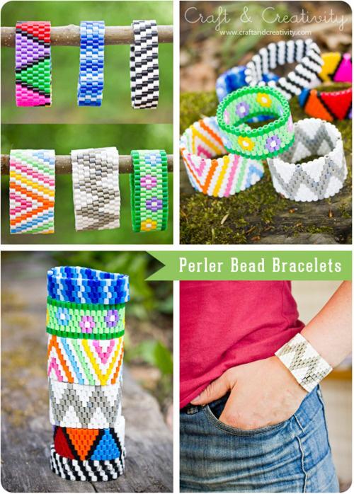 bracelet perles hama craft
