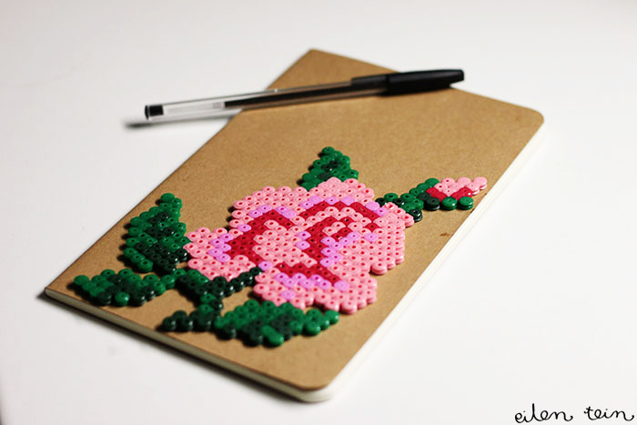 hama facon crochet bloc note