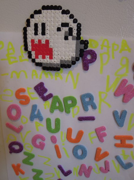 hama_fantome_perles mario bros magnets
