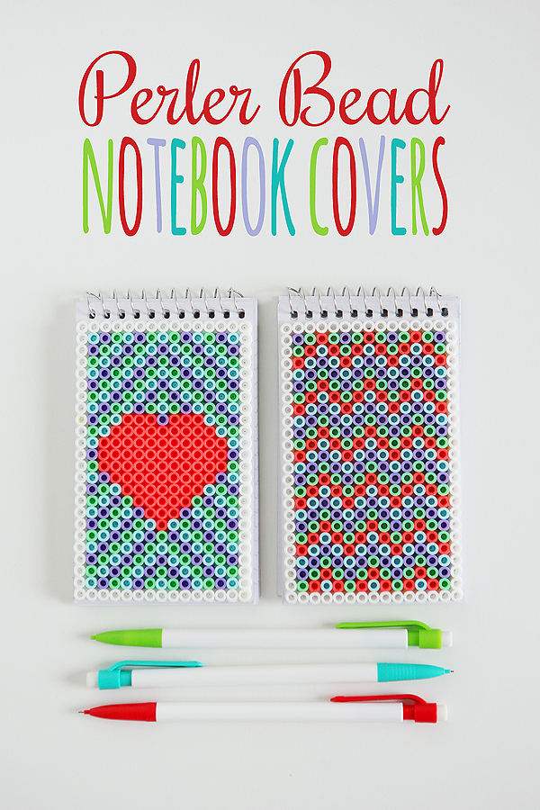 perler-bead-notebook-hama perles bloc note