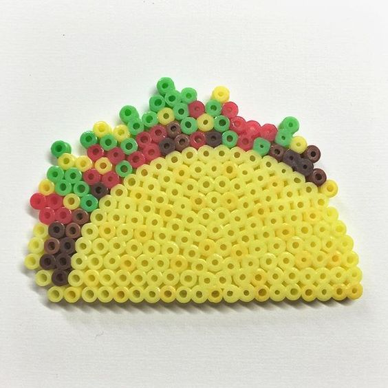 tacos perles hama dinette