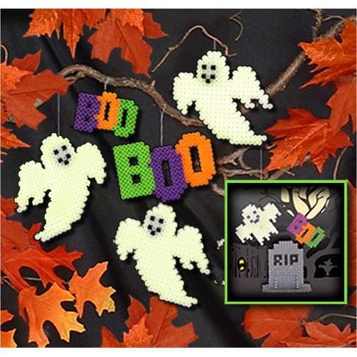 fantomes boo halloween perles hama