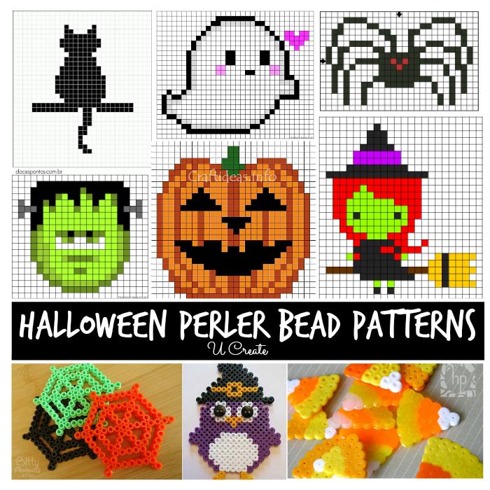 Halloween-Perler-hama motifs-DIY