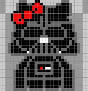 Hello-kitty-dark-vador-starwars-perles-hama