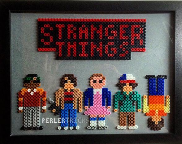 stranger-things-hama-perles-modele-cadre-halloween