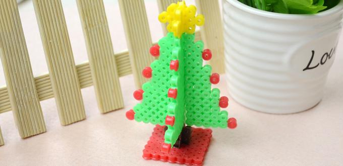 hama-sapin-noel-3d-perles-repasser-beads