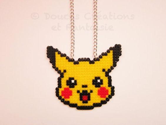 pikachu-collier-bijou-hama-perles-repasser
