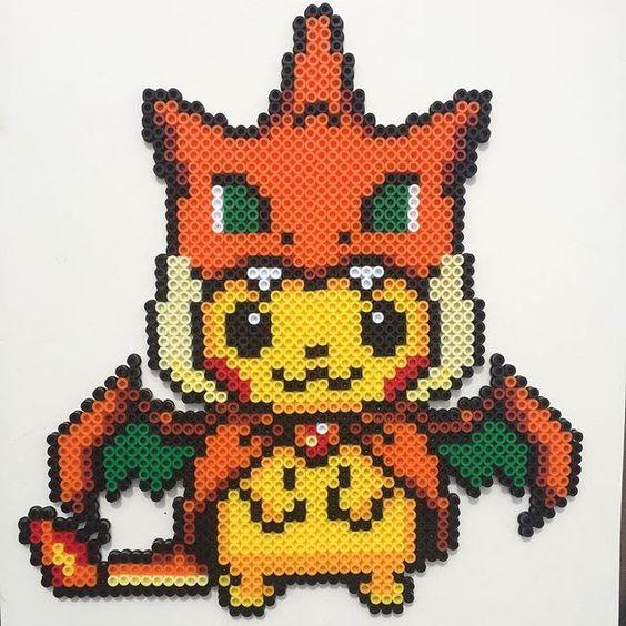 perles a repasser pokemon