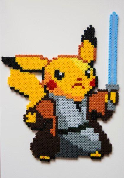 pikachu-obi-wan-star-wars-hama-perles-repasser