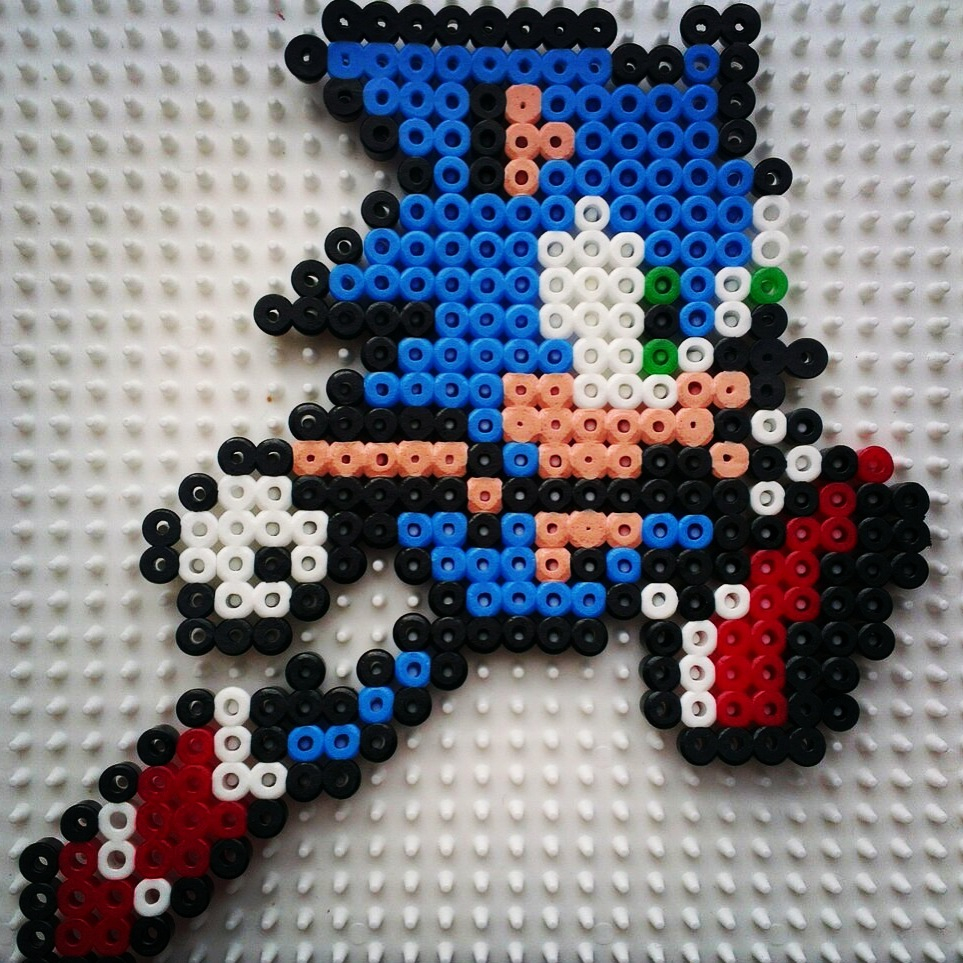 retro-gaming-sonic-run-game-perles-hama-repasser