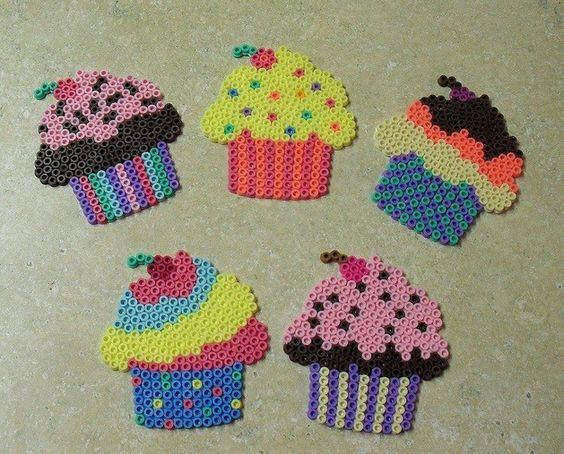 cupcakes-perles-hama-repasser
