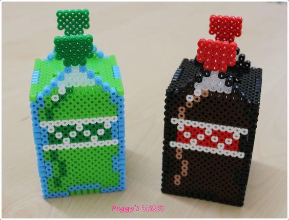 bouteilles-coca-3d-perles-a-repasser-hama