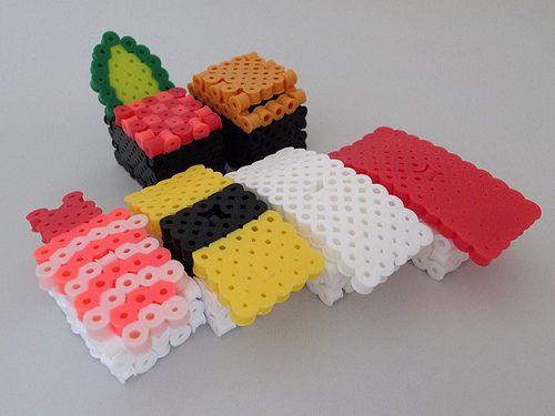 sushi-3d-dinette-perles-a-repasser-hama