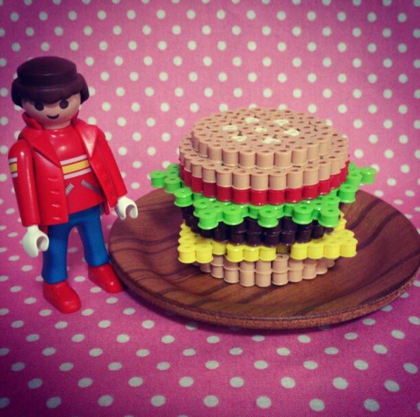 hamburger-perles-a-repasser-3d-dinette-hama