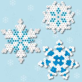 flocons-neige-hiver-perles-hama-a-repasser