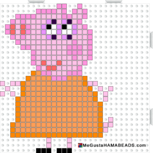 perles-a-repasser-hama-maman-pig-peppa