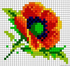 fleurs-perles-hama-a-repasser-perler-beads