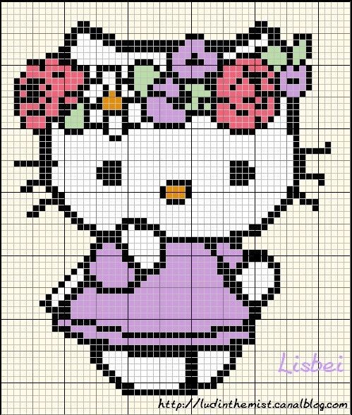 hello-kitty-fleurs-printemps-perles-a-repasser-hama