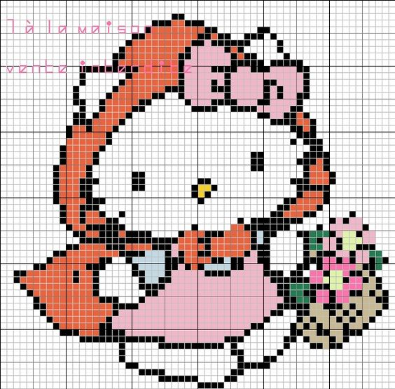 hello-kitty-perles-a-repasser-hama-chaperon-rouge