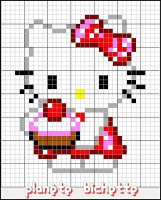hello-kitty-perles-a-repasser-hama-cupcake-patissiere