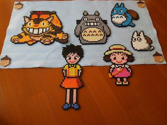 totoro-perles-a-repasser-hama-miyazaki