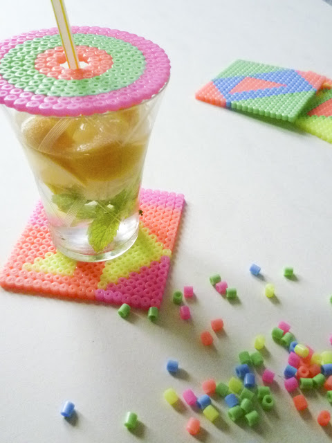 sous-verre-fluo-perles-a-repasser-hama