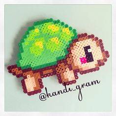tortue-kawaii-perles-a-repasser-hama