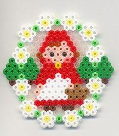 Il était une fois les perles à repasser : spécial Petit chaperon rouge