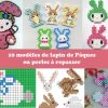 Perles-a-repasser-hama-paques-lapin-modeles