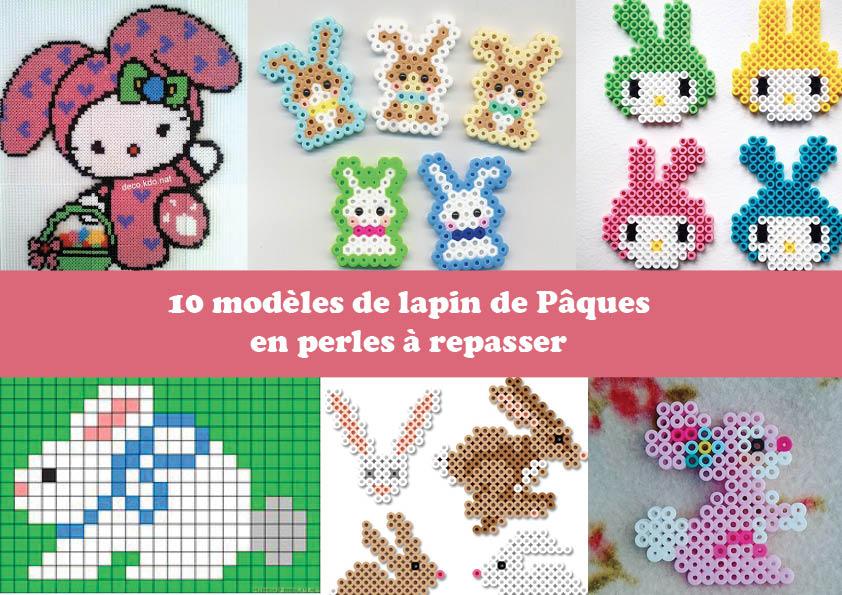 10 modèles de lapin à créer pour Pâques