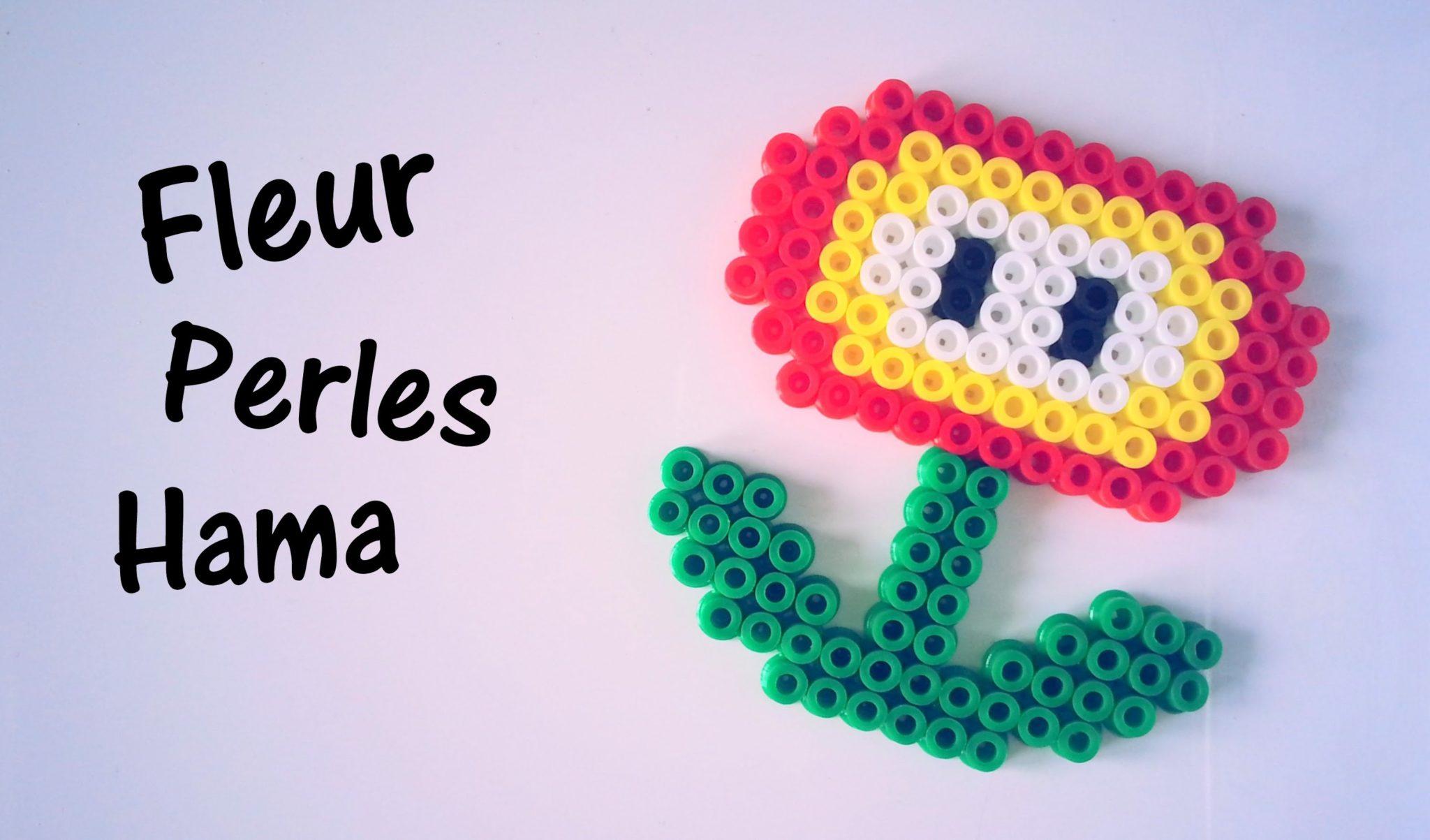 Comment Faire Une Fleur Mario Avec Des Perles Hama Modeles Hama